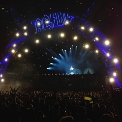 AC/DC Live at Werchter, Belgium - 16 May 2016